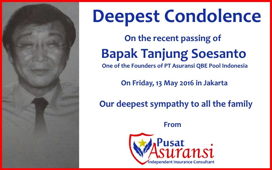 RIP Tanjung Soesanto